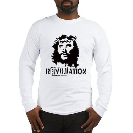Jesus Christ Revolation Long Sleeve T-Shirt