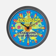 Inclusion Power Wall Clock