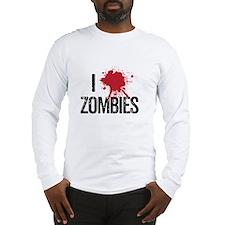 I kill zombies Long Sleeve T-Shirt
