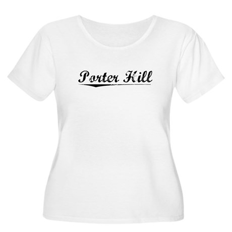 Porter Hill, Vintage Women's Plus Size Scoop Neck