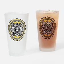 Voluntaryist Arabesque Drinking Glass
