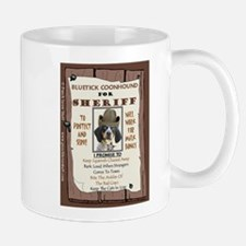 Sheriff -RecMag -BluetickCoonHound Mugs