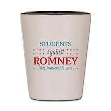 Students Against Romney Shot Glass
