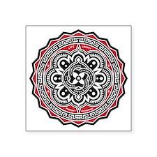 "Voluntaryist Arabesque Square Sticker 3"" x 3&"