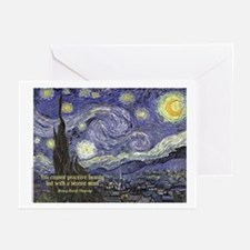 StarryNightCARD Greeting Cards