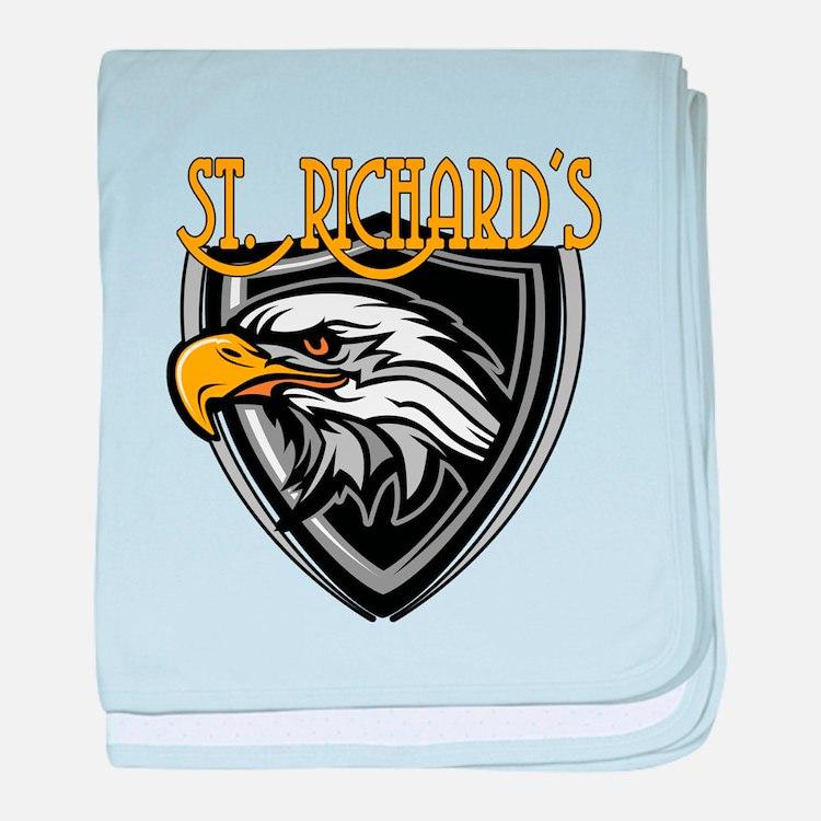 St. Richards Logo baby blanket