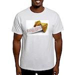 Confucius Fortune Cookie - Ash Grey T-Shirt
