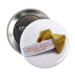 Confucius Fortune Cookie - Button (10 pack)