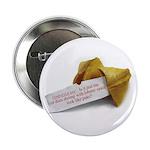 Confucius Fortune Cookie - Button