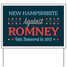 New Hampshirite Against Romney Yard Sign