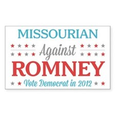 Missourian Against Romney Decal