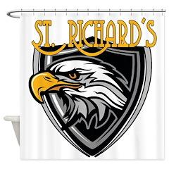 St. Richards Logo Shower Curtain