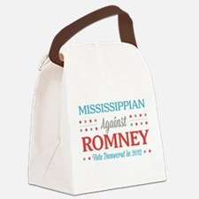 Mississippian Against Romney Canvas Lunch Bag