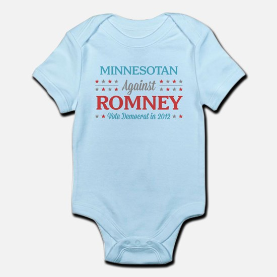 Minnesotan Against Romney Infant Bodysuit