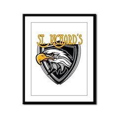 St. Richards Logo Framed Panel Print