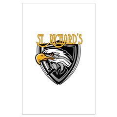 St. Richards Logo Posters