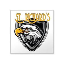 "St. Richards Logo Square Sticker 3"" x 3"""