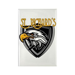 St. Richards Logo Rectangle Magnet
