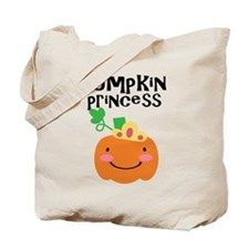 Pumpkin Princess Halloween Tote Bag