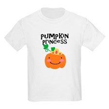 Pumpkin Princess Kids T-Shirt