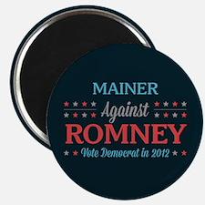 Mainer Against Romney Magnet