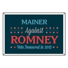 Mainer Against Romney Banner