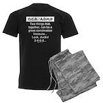 OCD/ADHD-Ducks! - Men's Dark Pajamas