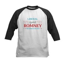 Liberal Against Romney Tee
