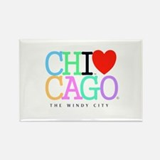 Chicago The Windy City Classic Rainbo Colors Recta