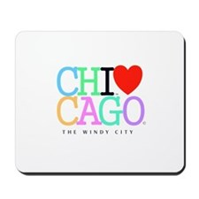 Chicago The Windy City Classic Rainbo Colors Mouse