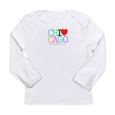 Chicago The Windy City Classic Rainbo Colors Long