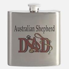 australian shepherd dad darks.png Flask