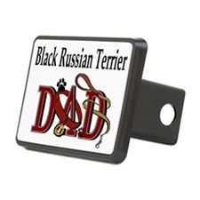 Black Russian Terrier Dad Hitch Cover