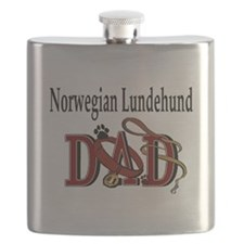 norwegian lundehund dad trans.png Flask