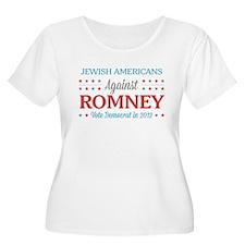 Jewish Americans Against Romney T-Shirt