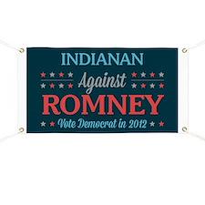 Indianan Against Romney Banner