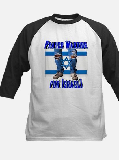 Prayer Warrior! Kids Baseball Jersey