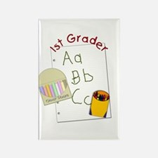 First Grader Rectangle Magnet