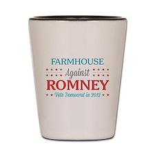 Farmhouse Against Romney Shot Glass