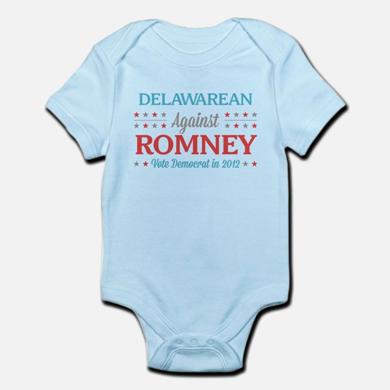 Delawarean Against Romney Infant Bodysuit