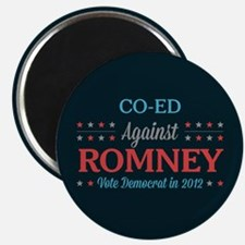 Co-Ed Against Romney Magnet