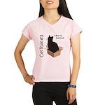 i fits i sits Performance Dry T-Shirt