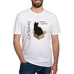 i fits i sits Fitted T-Shirt