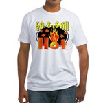 50 & Still Hot Fitted T-Shirt