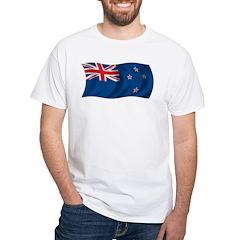 Wavy New Zealand Flag Shirt