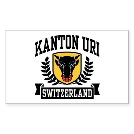 Kanton Uri Sticker (Rectangle)