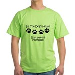 Dogs House 1 Green T-Shirt