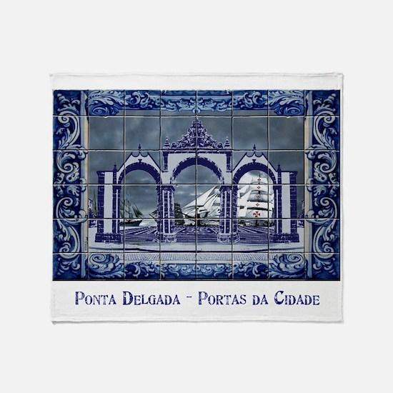 Unique Portuguese Throw Blanket