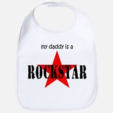 My Daddy is a Rock Star Bib