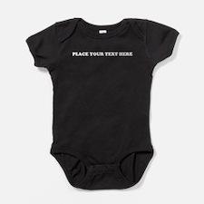 Add Text One Line Baby Bodysuit